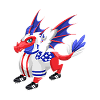 Image result for USA dragon